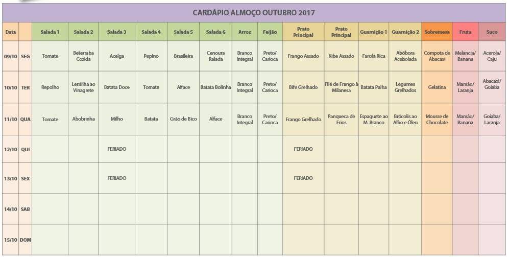 Cardapio 02