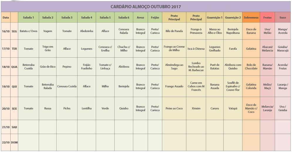 Cardapio 03