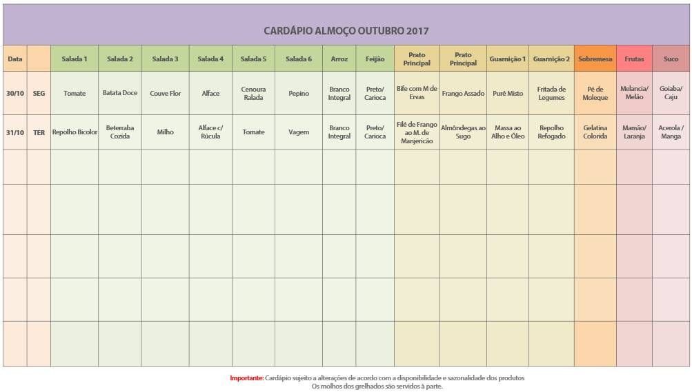 Cardapio 05