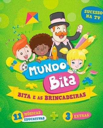 CD — Mundo Bita — Bita e as Brincadeiras — 11 Músicas Educativas + 3 Extras