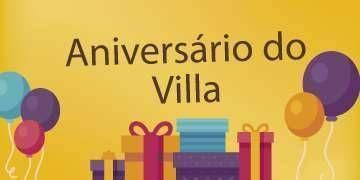 ANIVERSÁRIO DO VILLA - 16 anos