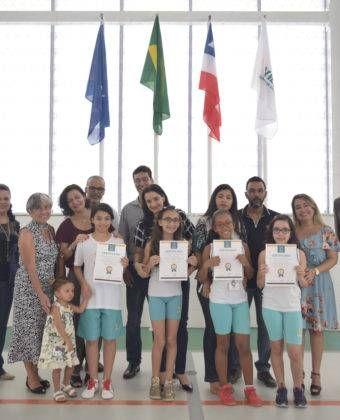 Momento Cívico – Entrega de Certificado de Meritocracia – Ensino Fundamental I