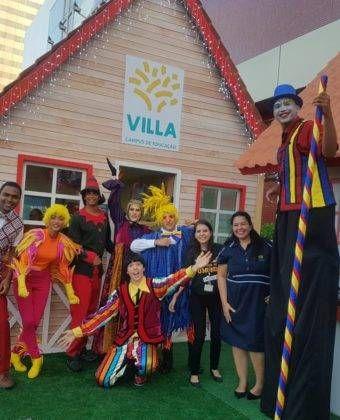 Visite o Villa Campus na Vila do Noel!