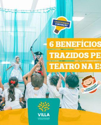 6 benefícios proporcionados pelo teatro na escola