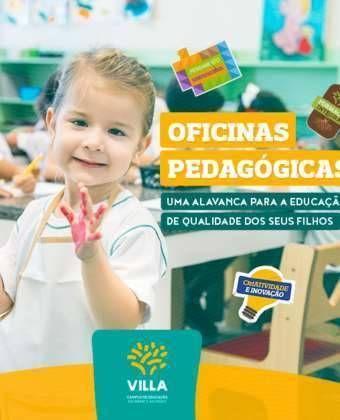 Oficinas pedagógicas: uma alavanca para a educação de qualidade dos seus filhos
