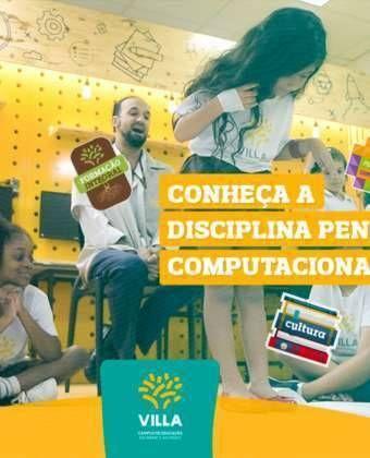 Conheça a disciplina Pensamento Computacional!