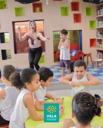 Sofá Literário - 1º ano C do Ensino Fundamental