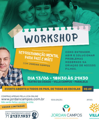 Workshop – Reprogramação Mental para Pais e Mães