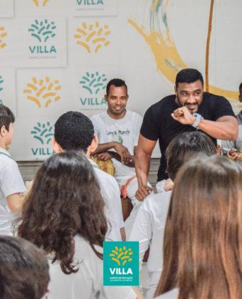 Aula de Capoeira - Ensino Fundamental 1