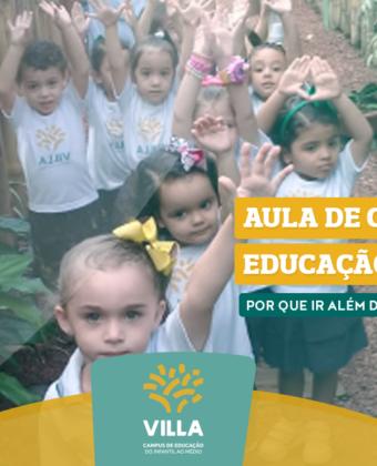 Aula de campo na educação infantil: por que ir além da sala de aula?
