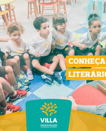 Quer mais literatura na escola? Conheça o sofá literário do Villa