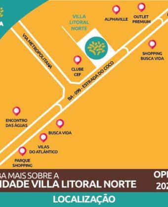 Unidade Litoral Norte - Localização