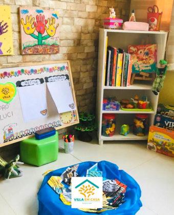 #VillaEmCasa - Cantinho das professoras - Educação Infantil