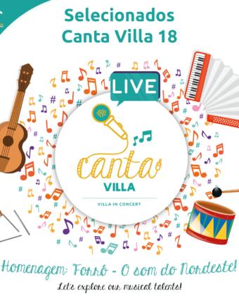 Canta Villa 18 - Lista de Selecionados