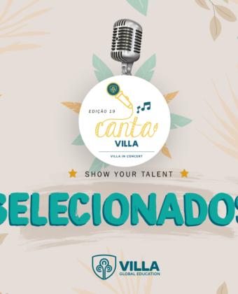 Lista de Selecionados - Canta Villa 2021